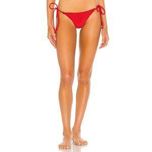 NEW Lovewave Petal Bikini Bottom Swimsuit Electric